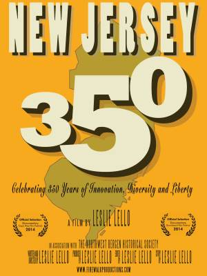 New Jersey 350 documentary poster